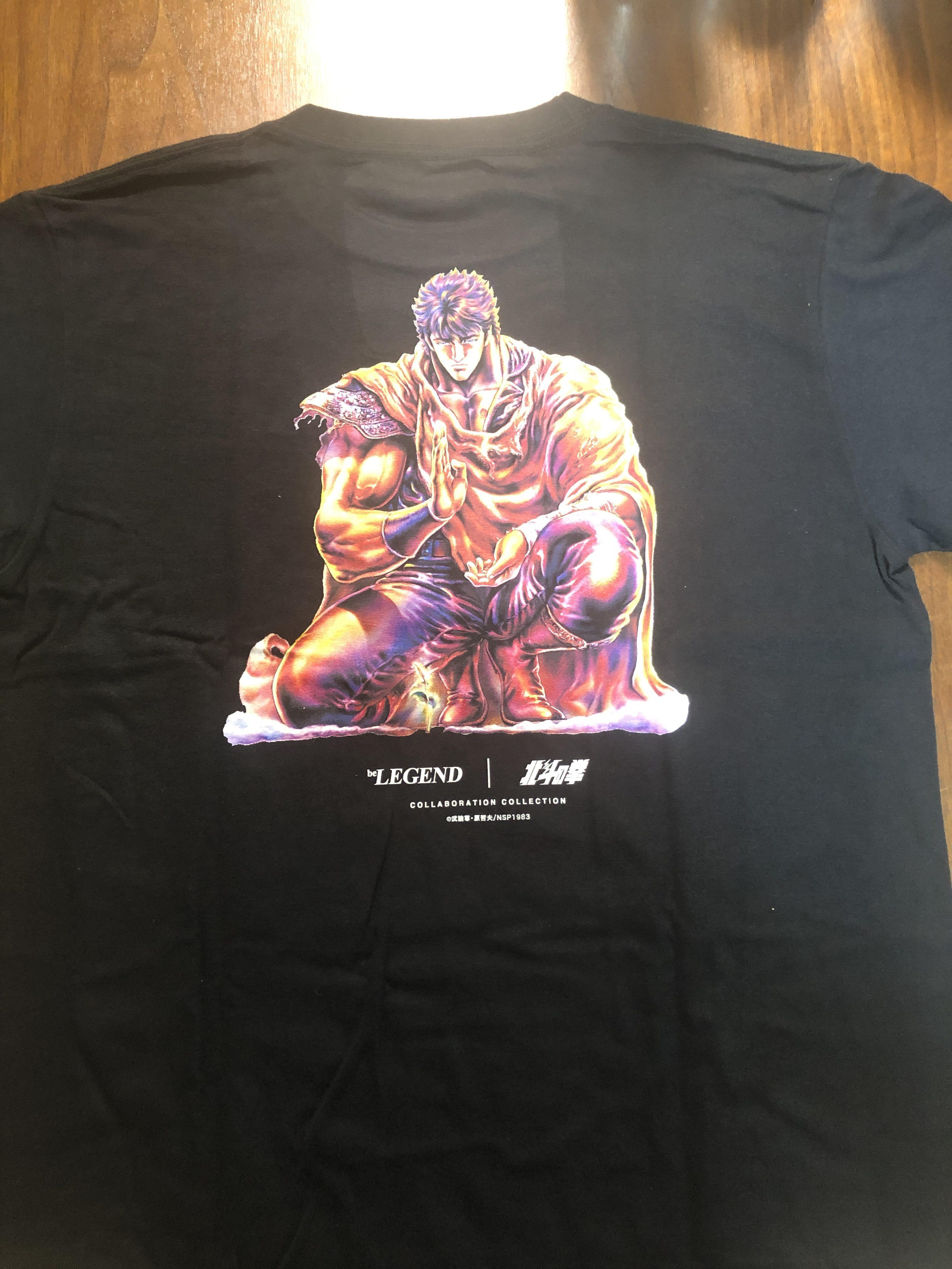 北斗の拳Tシャツ裏