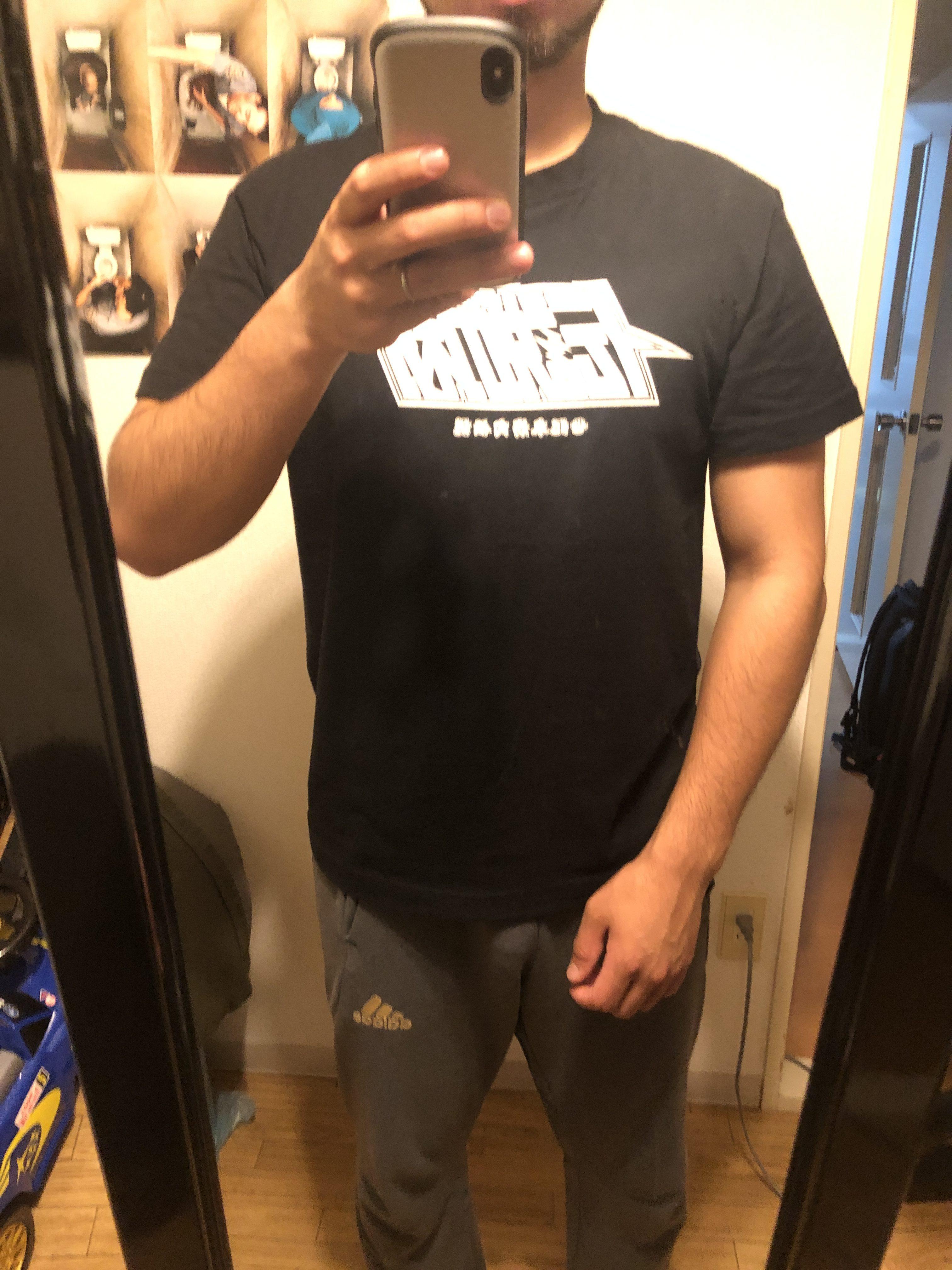 北斗の拳tシャツ着用