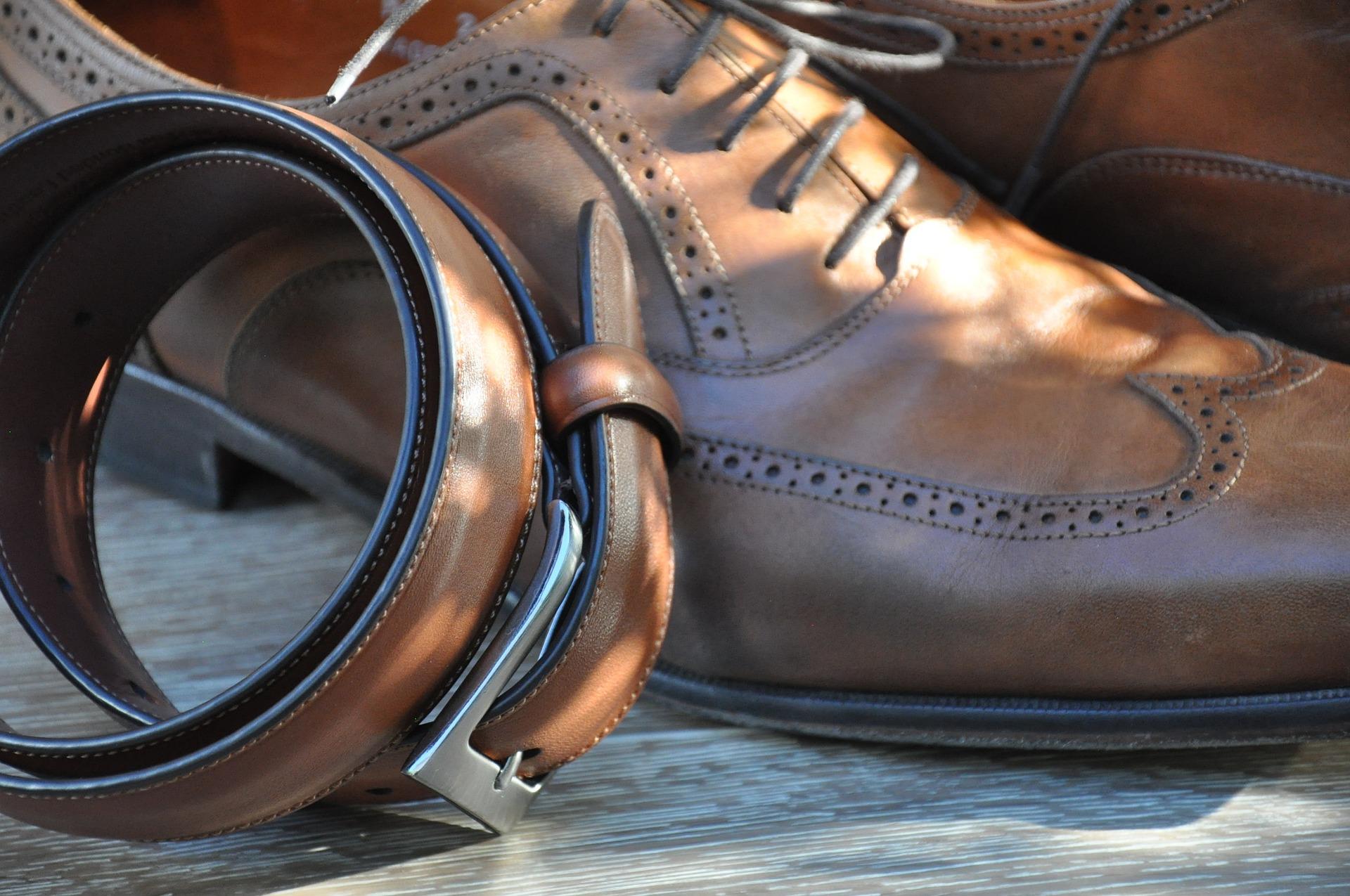 革靴&ベルト